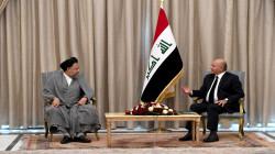 صالح لوزير الأمن الإيراني: استقرار العراق سيعزز السلم الإقليمي