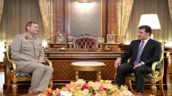 President Nechirvan Barzani meets with Global Coalition delegation