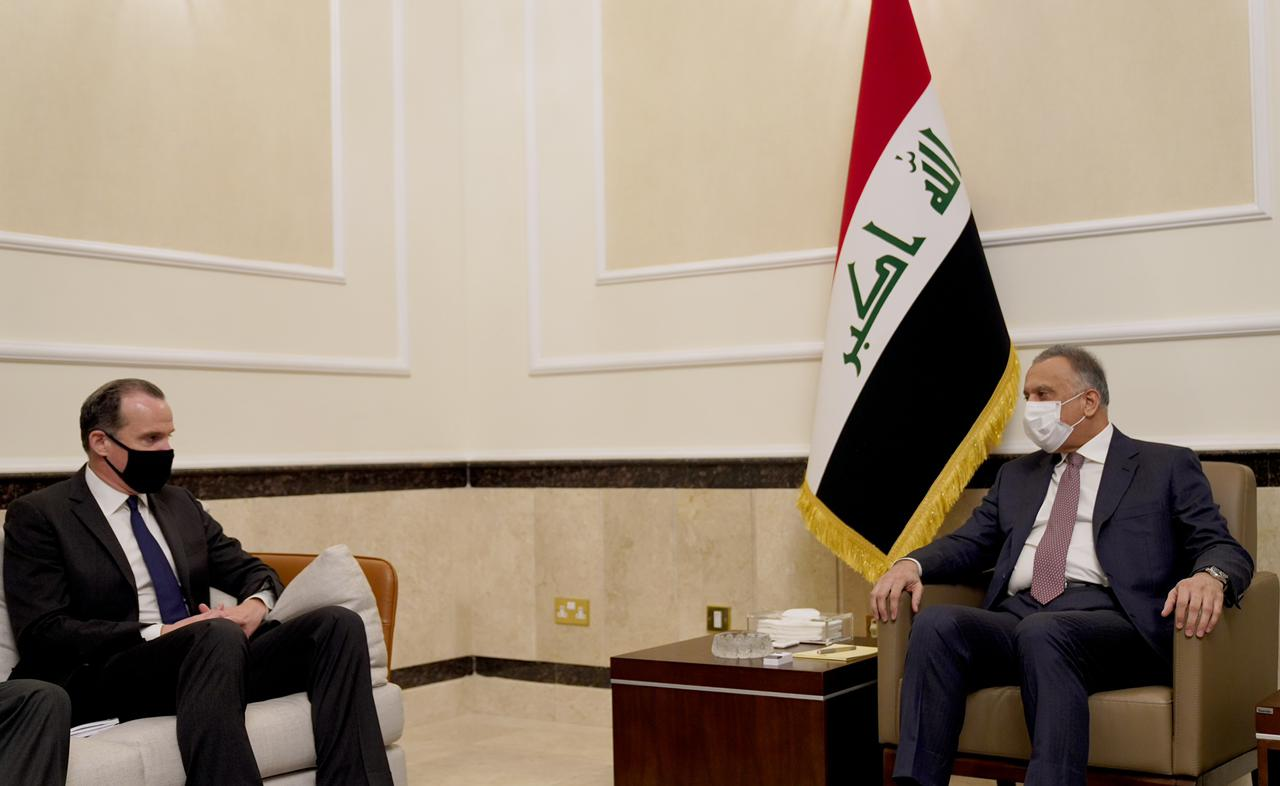 Al-Kadhimi meets with U.S. Security Council Coordinator, to move to a new phase of strategic cooperation