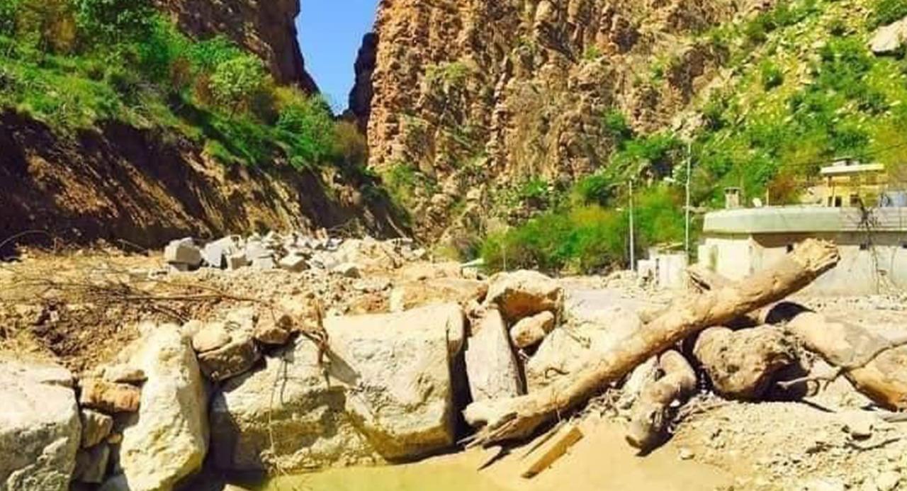 مصيف سياحي في أطراف خانقين يجذب سائحي المحافظات وكوردستان