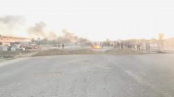 تظاهرة في ديالى تحتج على تأخر وصول محطة كهرباء متنقلة
