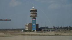 إطلاق صافرات الانذار في مطار بغداد الدولي