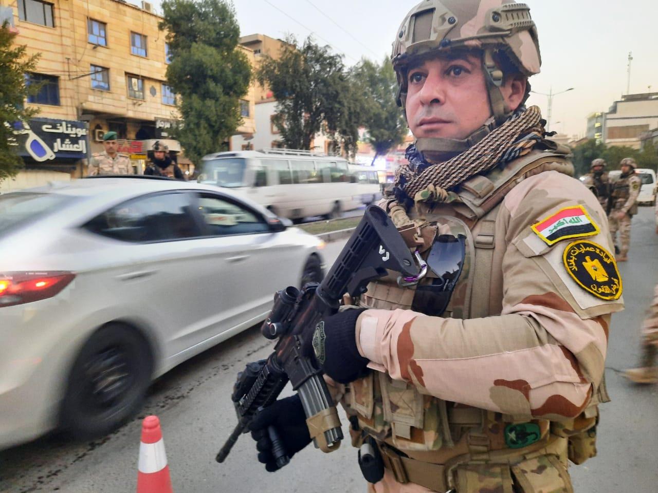 بغداد.. جثة ومصابان وسطو مسلح في العيد