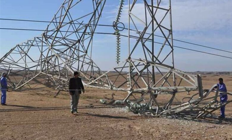 PMF thwarts an attempt to blow up a power transmission tower in Nineveh