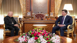 President Nechirvan Barzani receives Cardinal Louis Sako