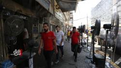 أجواء لاهبة تضرب 11 منطقة ومحافظة عراقية خلال 24 ساعة الماضية