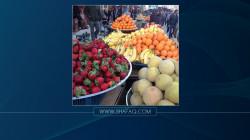 """""""القيظ"""" وحظر الاستيراد يرفعان أسعار الفواكه والخضر بديالى"""