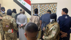The Baghdad Police arrest four wanted persons
