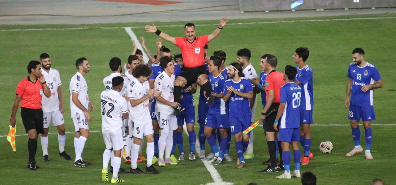 القوة الجوية يتوج بلقب بطولة كأس العراق للمرة 12