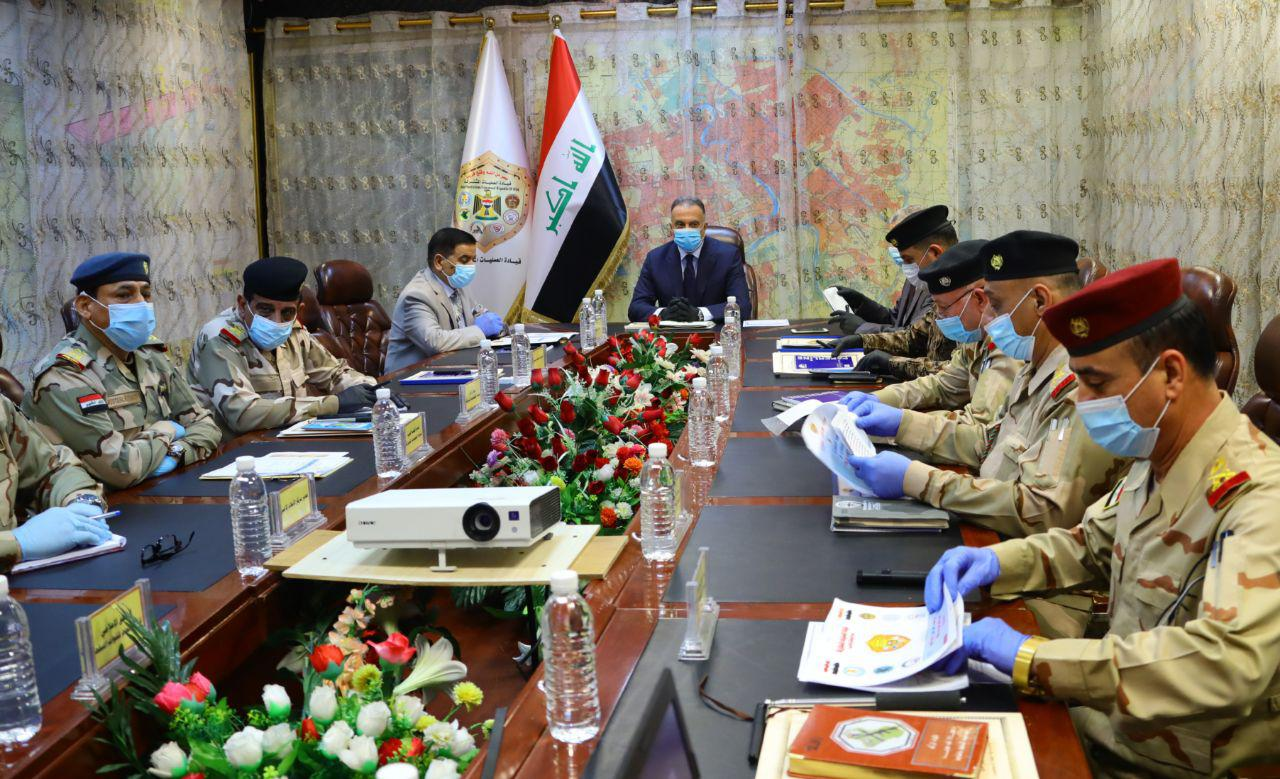 PM al-Kadhimi holds an emergency security meeting in the aftermath of the Sadr City attack