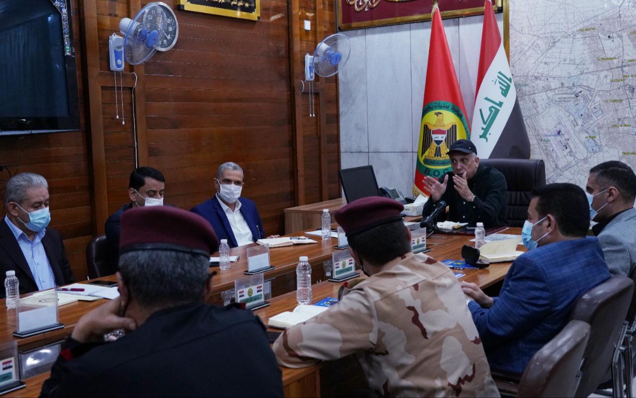 الكاظمي يحيل قائداً أمنياً رفيعاً على التحقيق على خلفية انفجار مدينة الصدر
