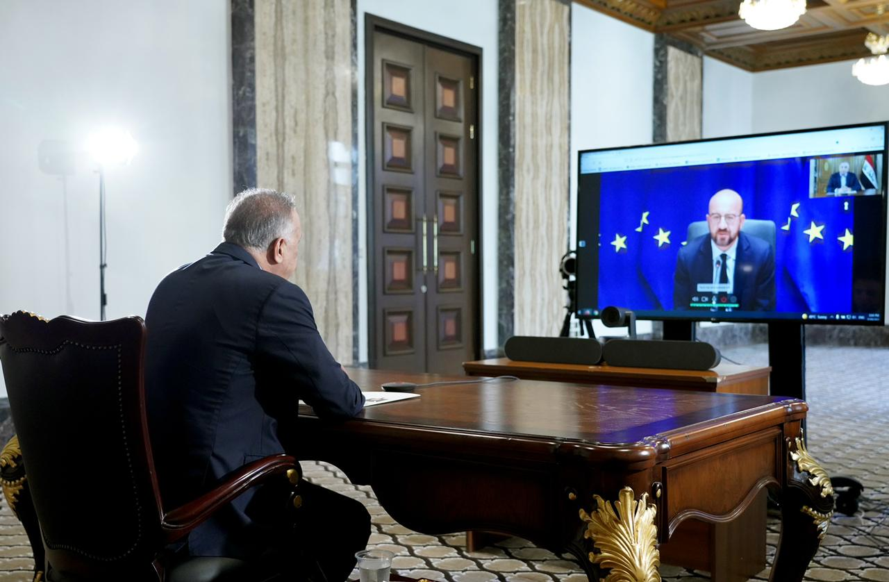 Al-Kazemi looks forward to European support for the white paper reforms