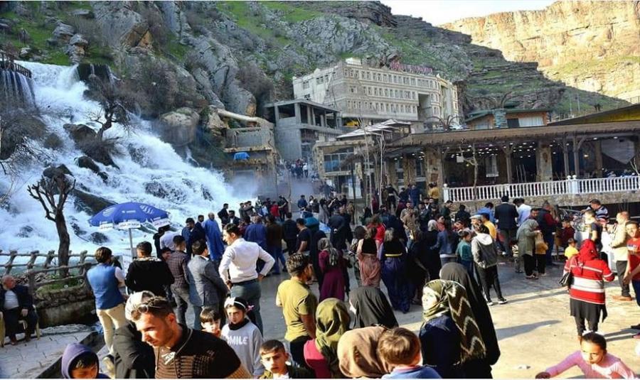 کەشوهەوای کوردستان: گەرمی چەن ناوچەیگ رەسیە ٥٢ پلەی سەدی