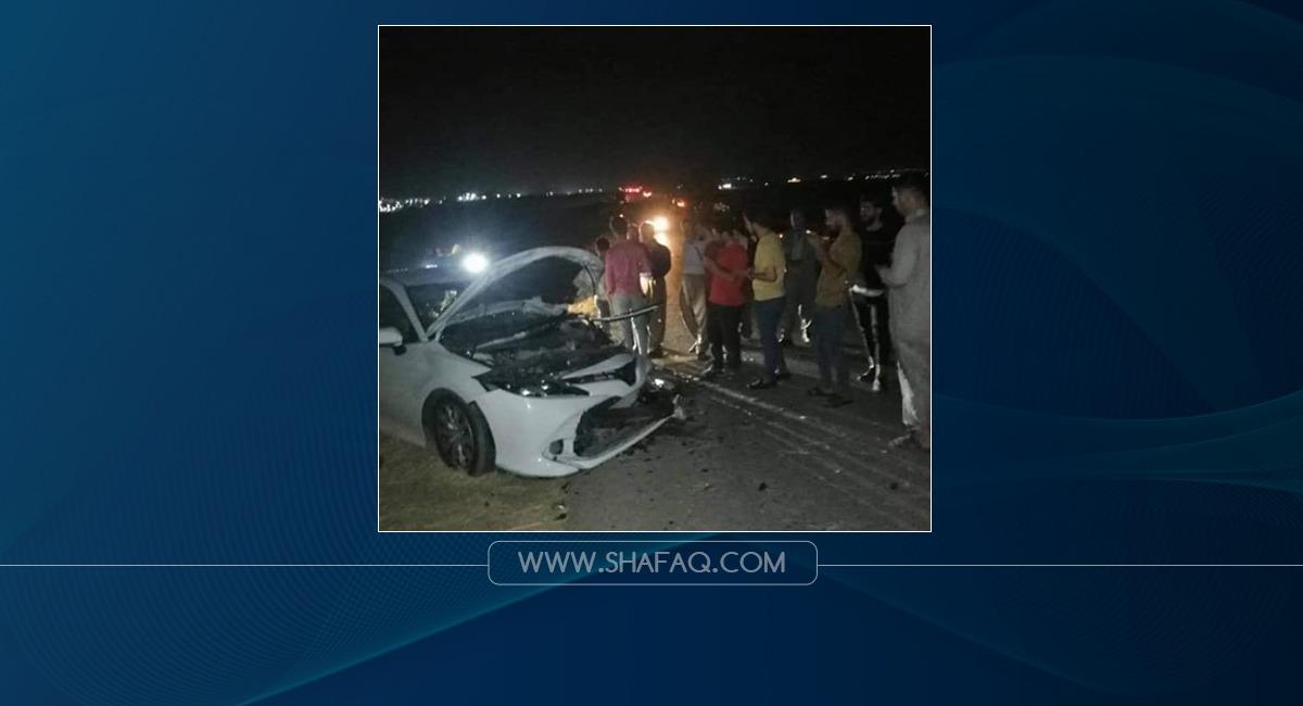 مصرع وإصابة 9 أشخاص بحادثين في أربيل .. صور