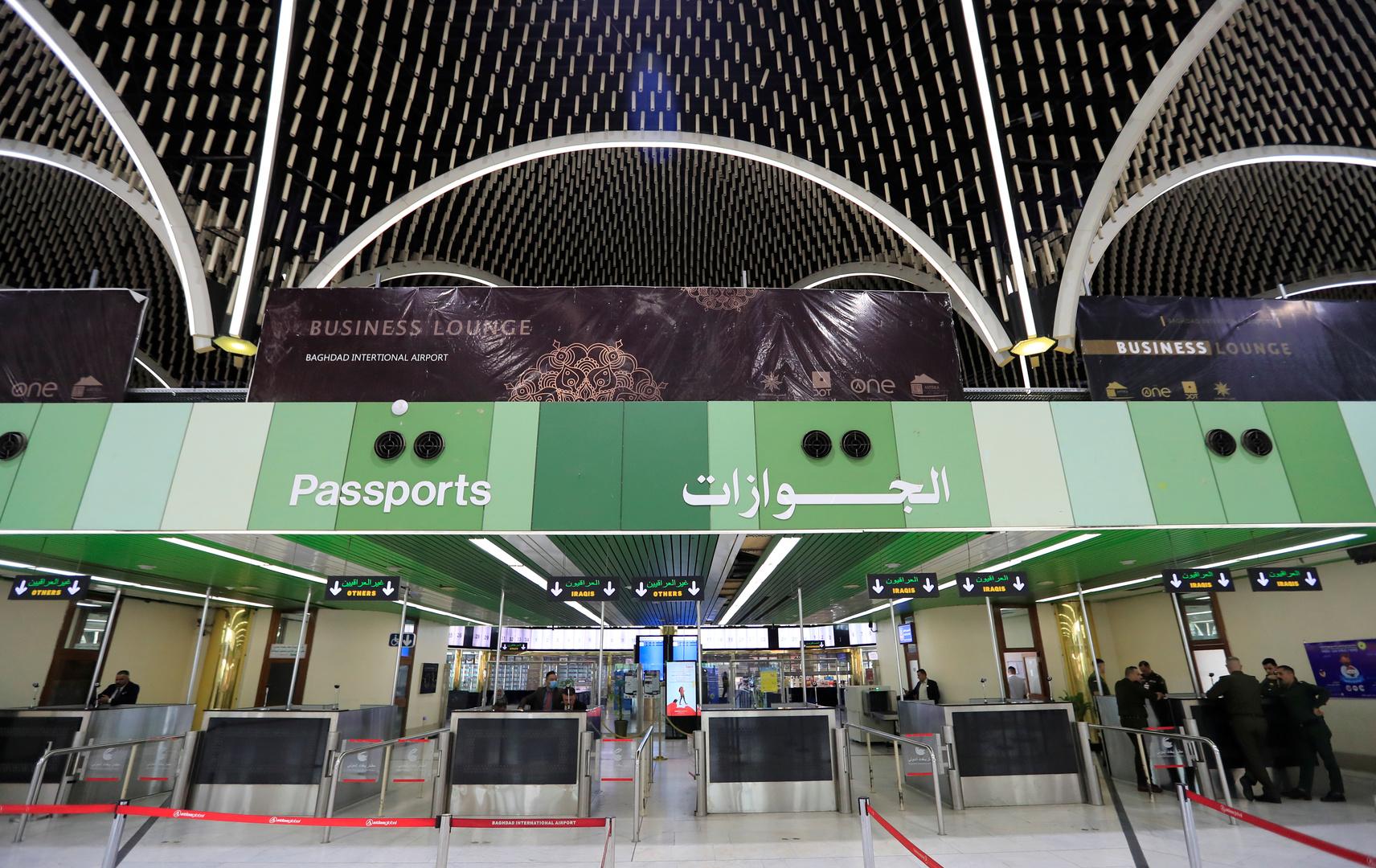 إجراء جديد للوافدين عبر مطاري بغداد والنجف استناداً لمقررات الصحة