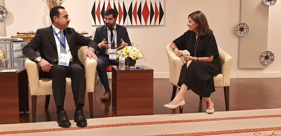Erbil's Governor meets with the Mayor of Paris