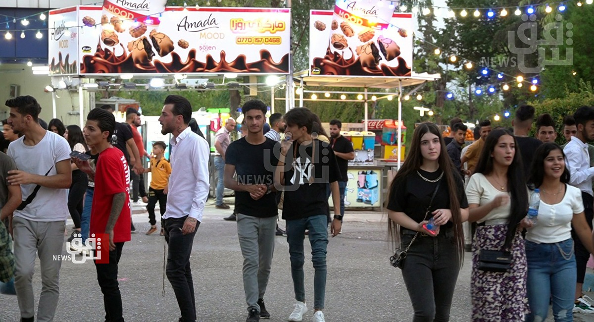 70 thousand tourists poured to al-Sulaymaniyah in al-Adha's first two days