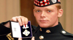 """Scottish soldier sells a medal he was awarded for """"bravery"""" in Iraq"""