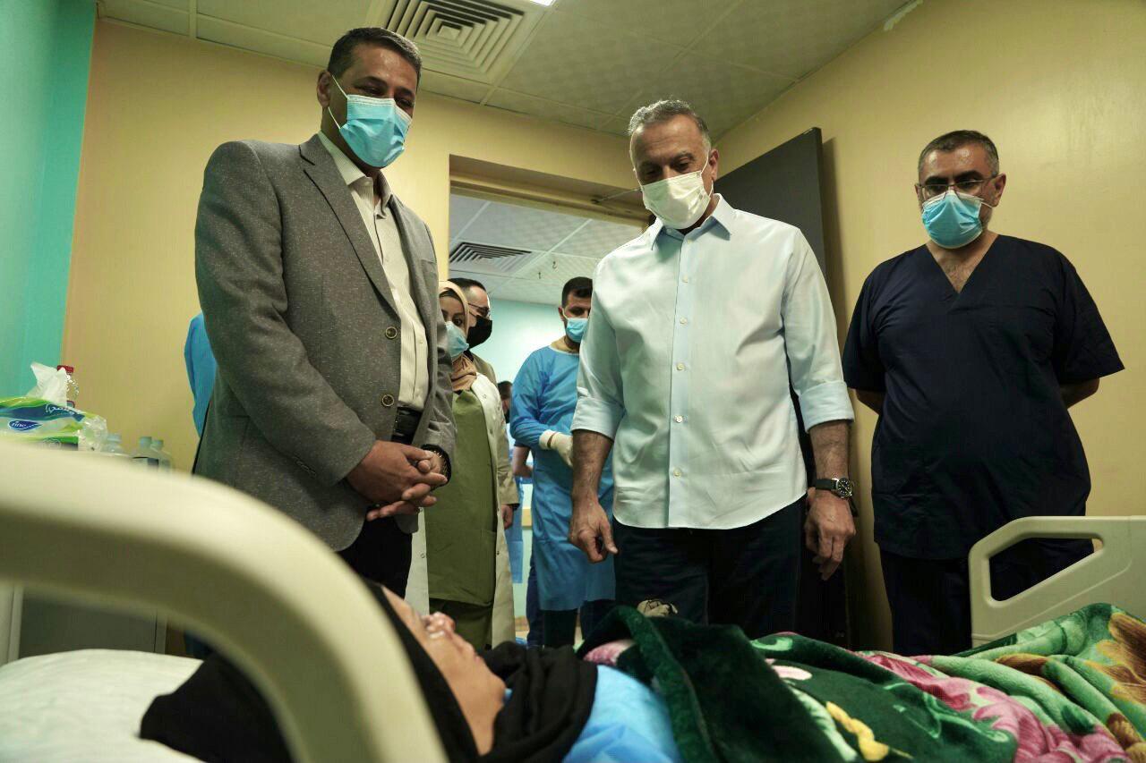 الكاظمي: تفجير مدينة الصدر كان نتيجة الفساد وتراكمات سابقة