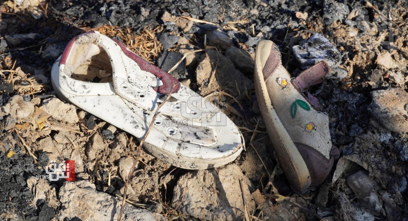نازحون يروون تفاصيل مرعبة لحريق أودى بحياة طفل بالسليمانية
