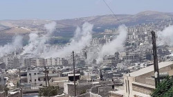 Heavy shelling of unknown source targets Afrin