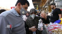 عراق زياتر لە ١٢ هەزار تووشهاتن کۆڕۆنا تۆمار کەێد