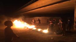 ذي قار.. إضرام النيران وسط الشوارع للمطالبة بتحسين الكهرباء