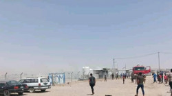 Fire broke out in an IDP camp in Nineveh