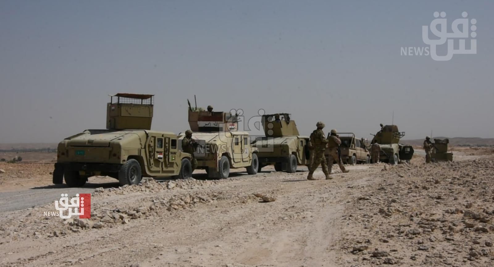 القوات العراقية تشرع بعملية أمنية على الحدود السعودية هي الاولى منذ 2016