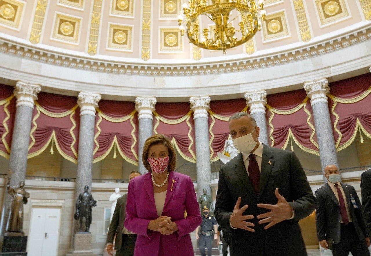 الكونغرس الأمريكي يعلن دعماً لحكومة الكاظمي