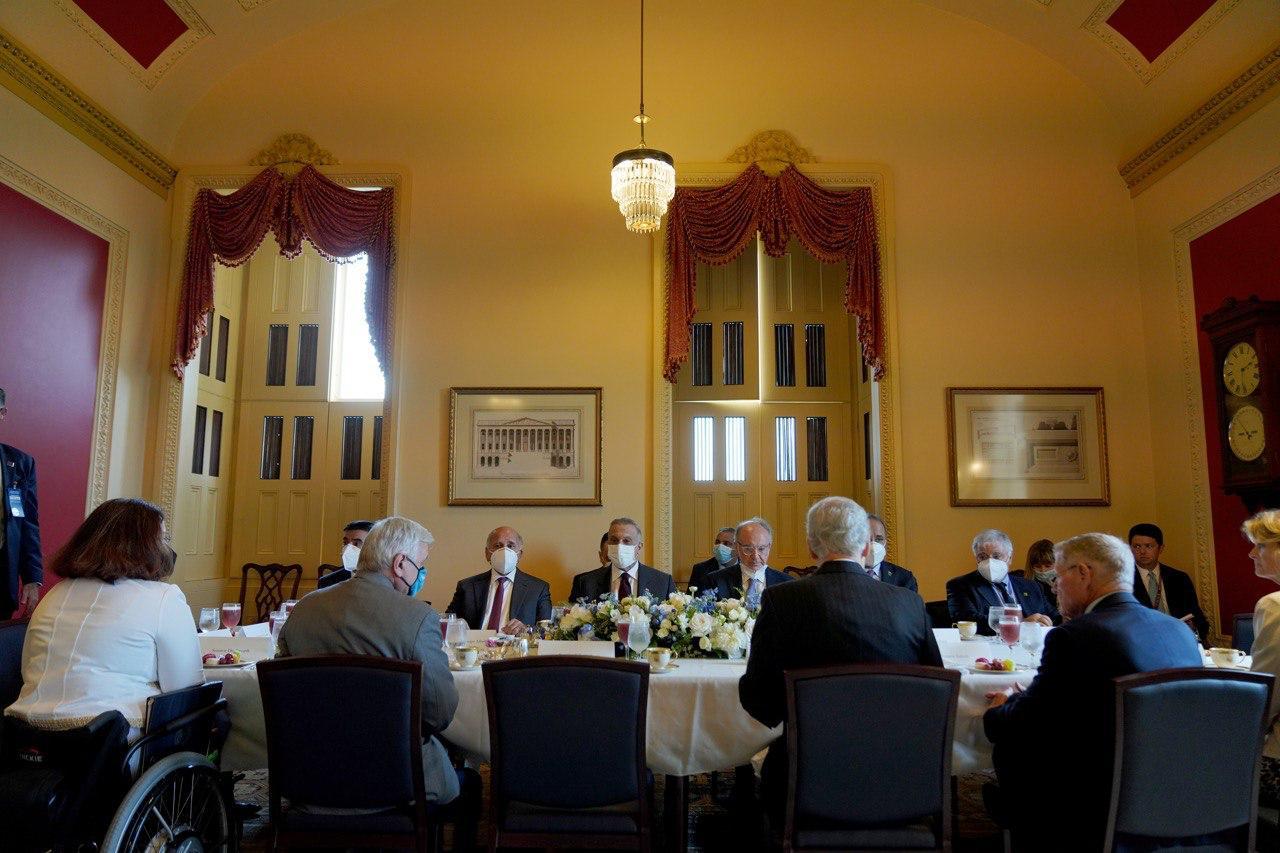 Al-Kadhimi meets high-level U.S. officials in Washington