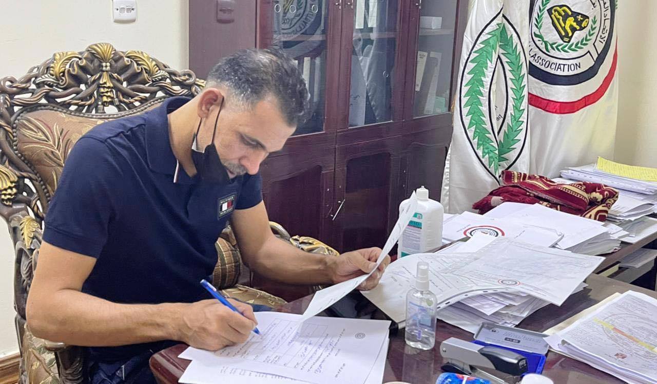 يونس محمود وكامل زغير يرشحان لاتحاد الكرة