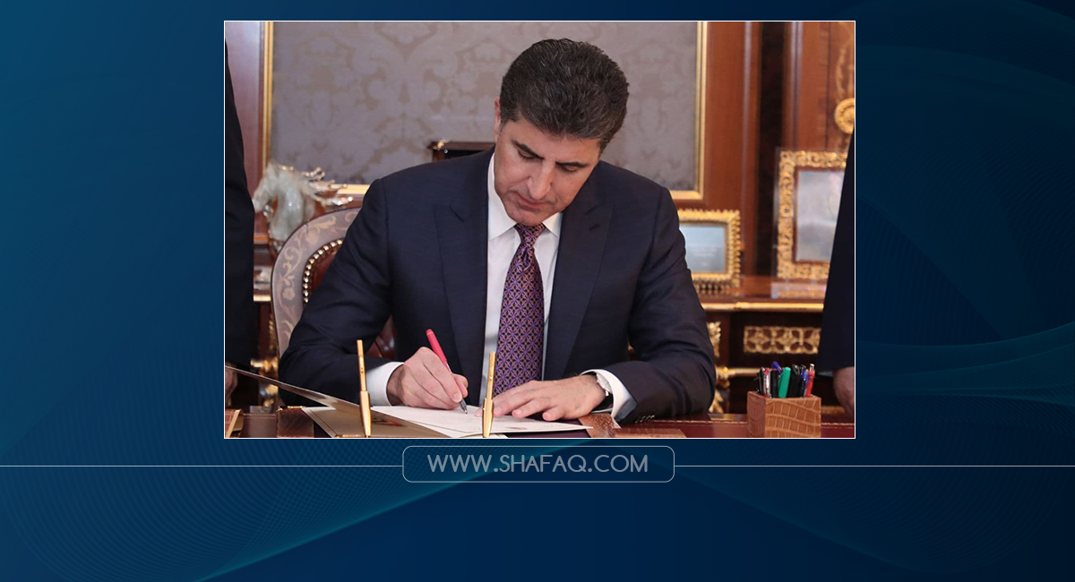 President Barzani Condoles the death of the helicopter crash incident in Saladin