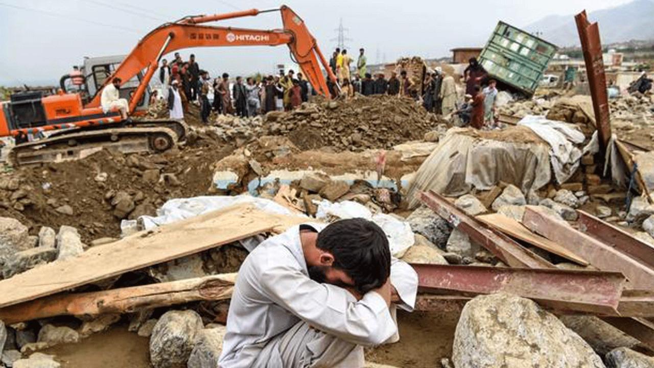 مصرع وفقدان 190 شخصا بفيضانات ضربت شمال أفغانستان