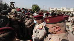 An Iraqi army delegation arrives in Yathrib to follow up the situation after the ISIS attack