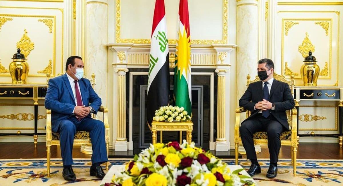 رئيس حكومة كوردستان يؤكد على تأمين الأرضية المناسبة لإجراء انتخابات نزيهة