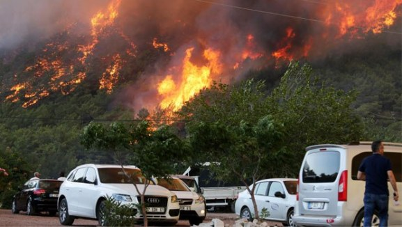 The Children of Fire initiative claims responsibility for Turkey's fires