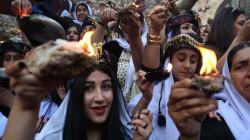 """قادة كوردستان يهنئون الكورد الايزيديين بعيد """"اربعينية الصيف"""""""