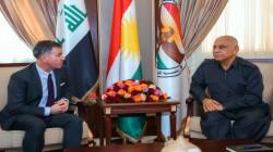 إقليم كردستان وأمريكا يبحثان معالجة الفراغات الأمنية