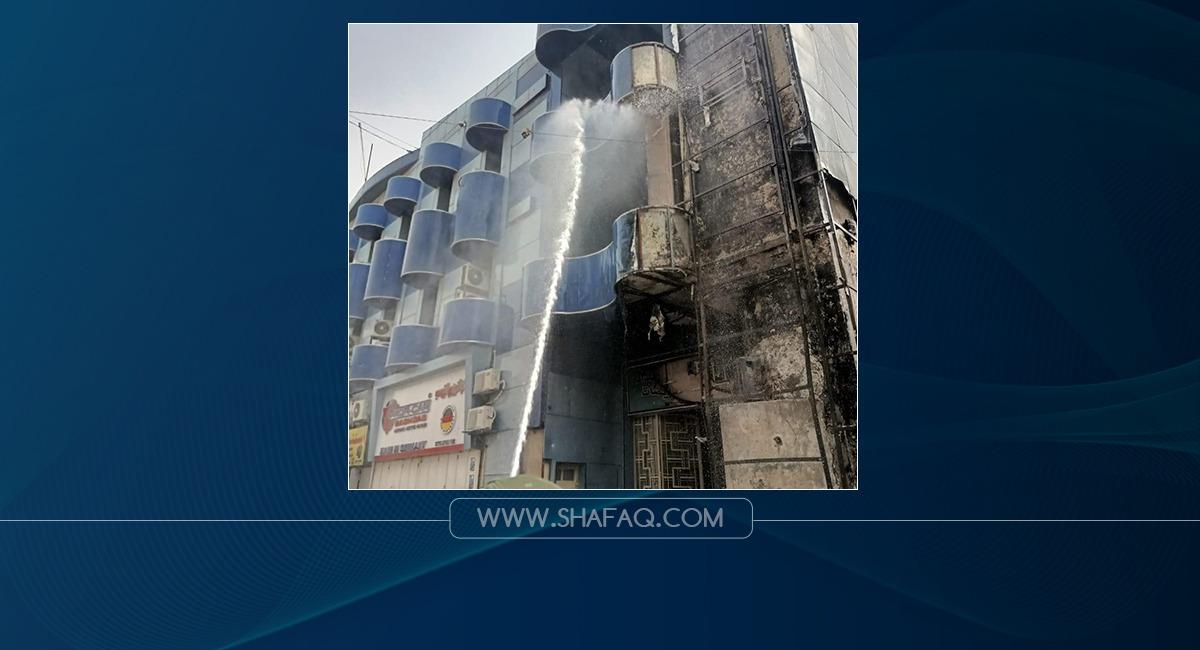 Two massive fires erupt in Baghdad