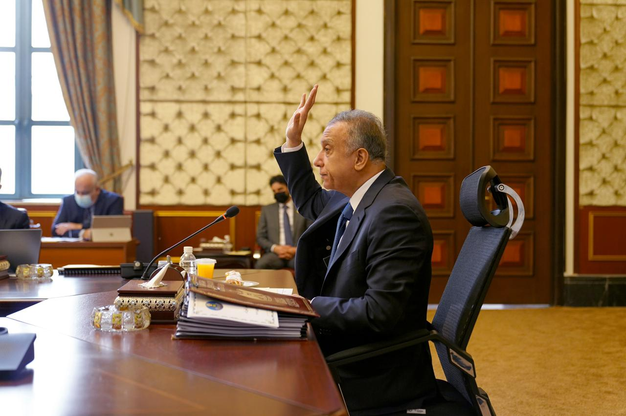 في جلستها الأسبوعية.. حكومة الكاظمي تتخذ 8 قرارات جديدة