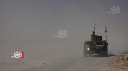 اطلاق نار بين الجيش العراقي وداعش بمنطقة فاصلة بين أربيل ونينوى