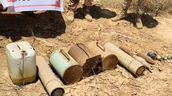 Security Forces seize explosive devices in Saladin