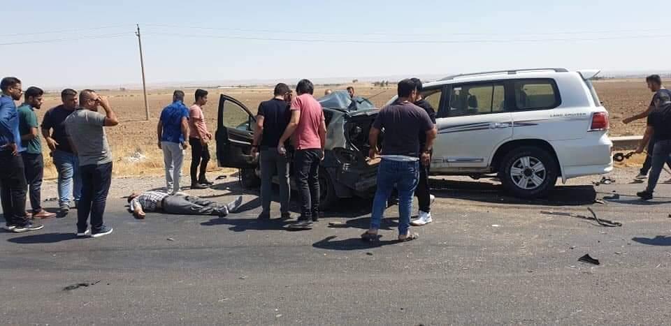 حادث مروع ينهي حياة زوج وزوجته على طريق كركوك - اربيل