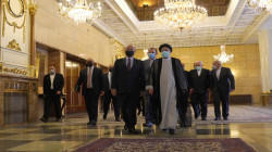 Iraq's President holds first meeting with the new Iranian President Ibrahim Raisi in Tehran