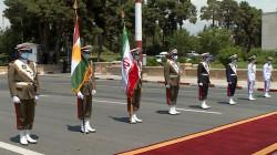 Iran receives Kurdistan's President