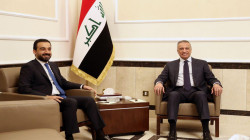 الكاظمي والحلبوسي يحثان بريطانيا وأمريكا على دعم العراق في محاربة الإرهاب