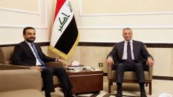 Al-Kadhimi and al-Halboosi meet senior western diplomats