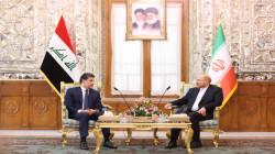 رئيس الاقليم يبحث مع رئيس مجلس الشورى الإيراني عدة ملفات