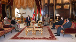Masoud Barzani hosts the UK ambassador to Iraq in Erbil